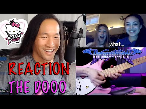 DragonForce Reaction  Herman Li Reacts to The Dooo Playing Guitar on Omegle