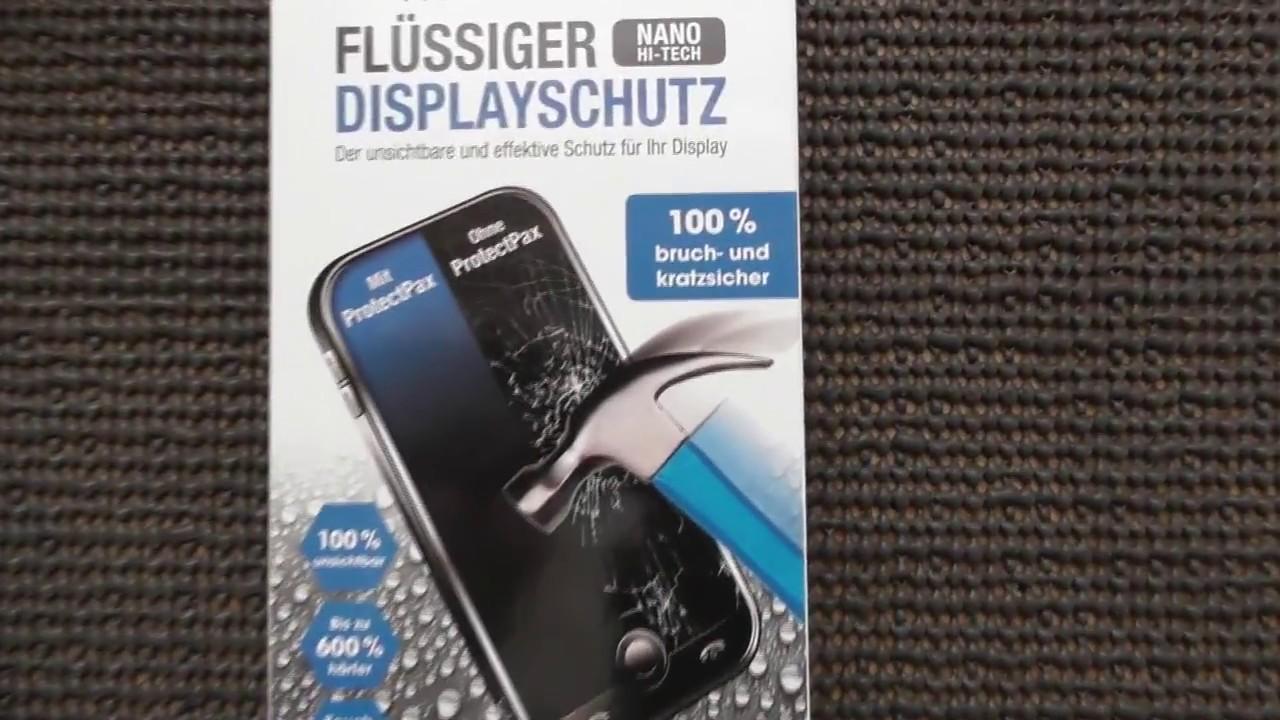 Mit Dem Hammer Aufs Handy Einschlagen Flussiger Displayschutz Test