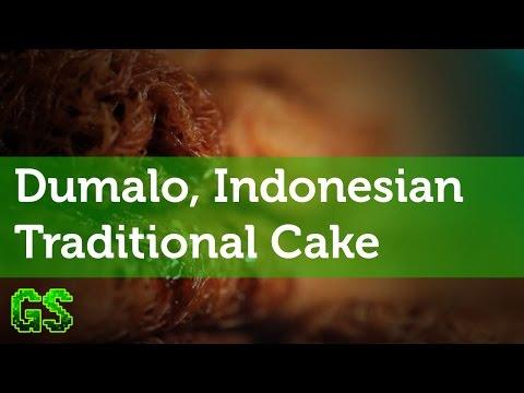 Dumalo, Indonesian Traditional Cake, Bone Bolango Regency - Gorontalo
