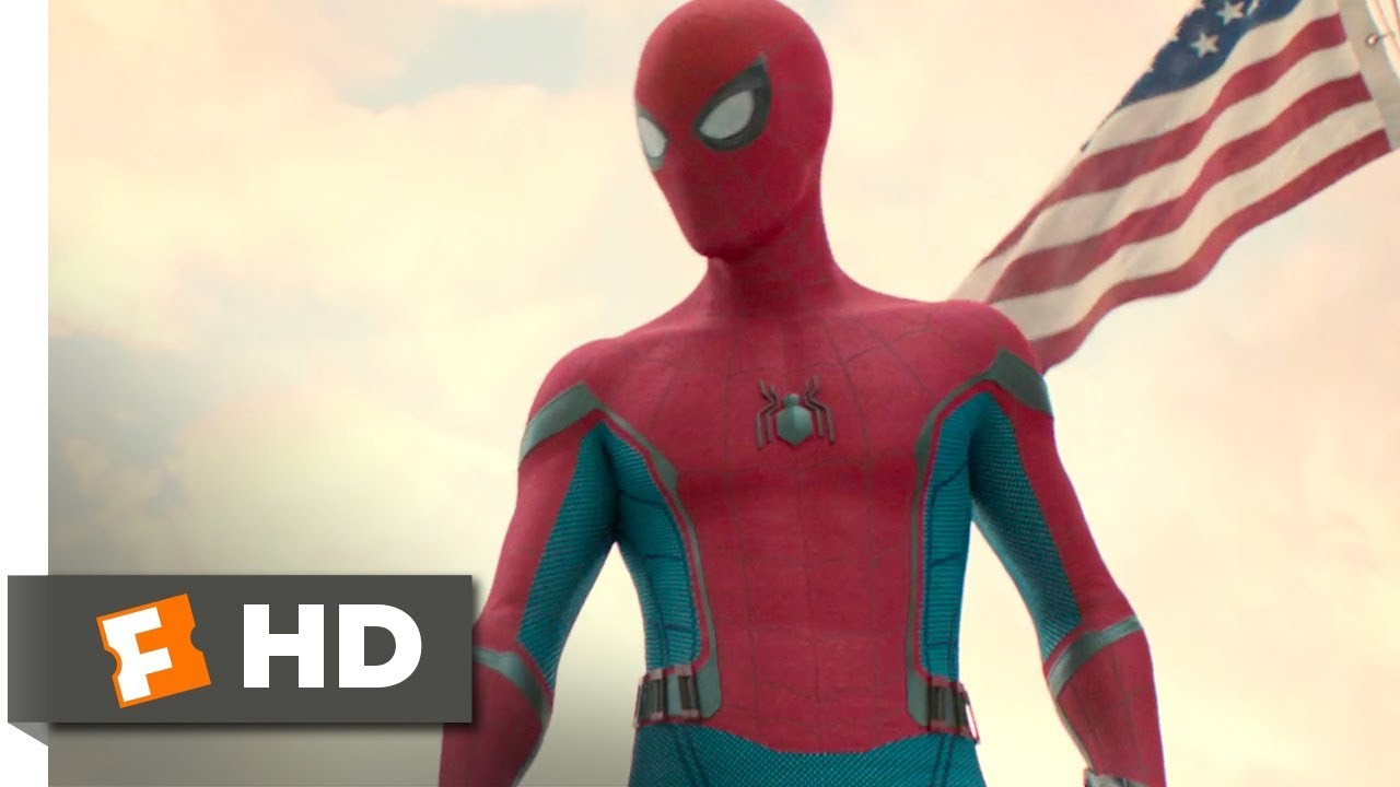 spider-man: homecoming (2017) - that spider guy scene (1/10