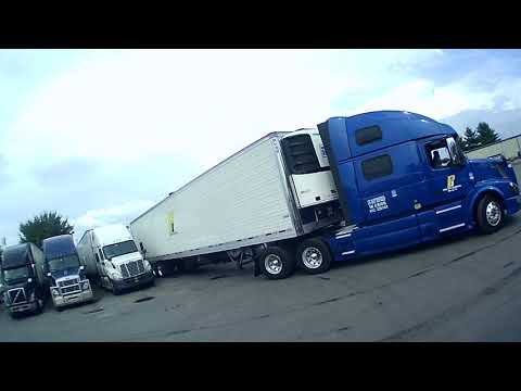 How To: Tractor Trailer Blindside Backing