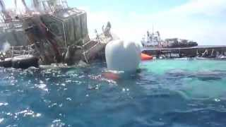 Tramarsa - Reflotamiento de remolcador Ixcateca