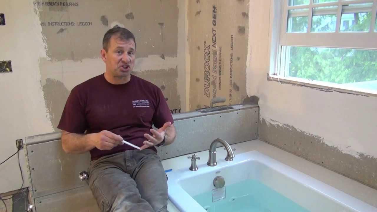 Remodeling A Bathroom Part 8 Liquid Waterproofing A