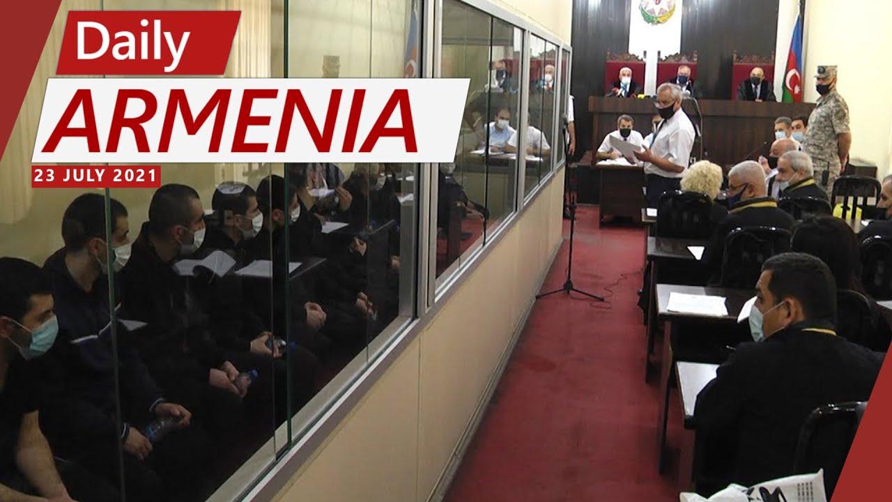 Azerbaijan sentences 13 Armenian soldiers to prison