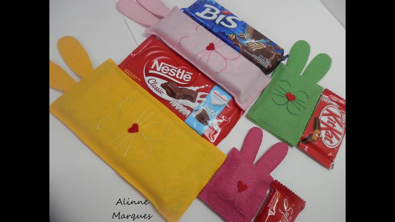 Adhesivo De Montaje Agorex ~ Embalagem para chocolate em feltro Artesanato Passo a passo YouTube