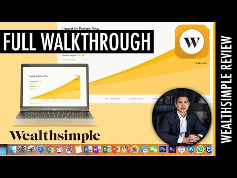 Wealthsimple Invest FULL WALKTHROUGH/REVIEW | The Best Robo-Advisor In Canada