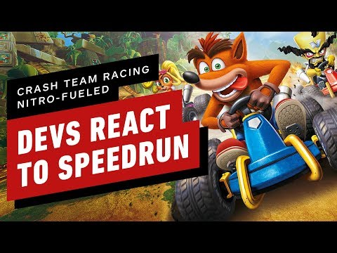 Crash Team Racing Nitro-Fueled Developers React to 47 Minute Speedrun