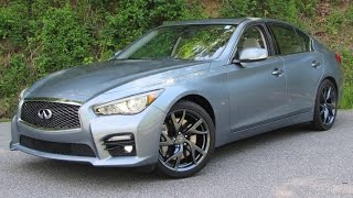 2015 Infiniti Q50S Start Up, Road Test, and In Depth Review