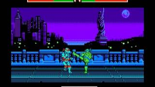 Teenage Mutant Ninja Turtles - Tournament Fighters - -Raph Vs Leo- Vizzed.com - User video