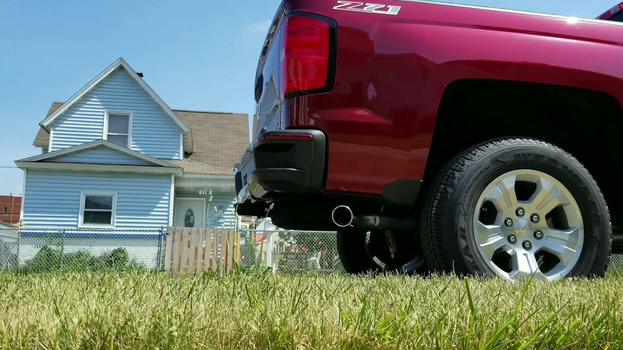 2017 Silverado 5 3 Black Widow Exhaust Venom 250 Youtube