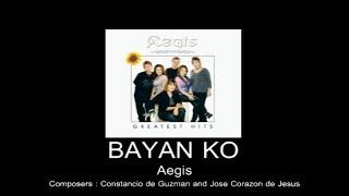 Bayan Ko By Aegis (With Lyrics)