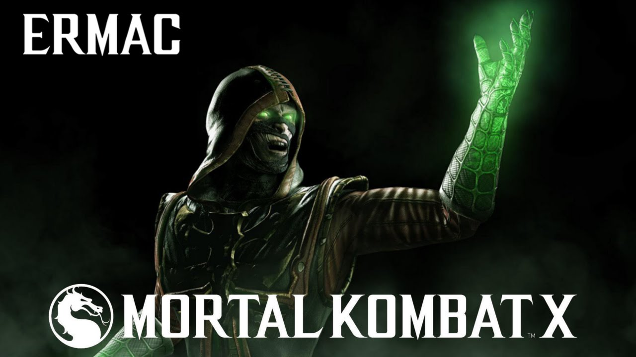 Mortal Kombat X Ermac Intro X Ray And Fatalities