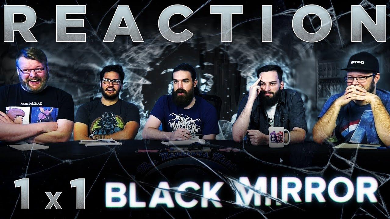 Black Mirror 1x1 Reaction The National Anthem Youtube