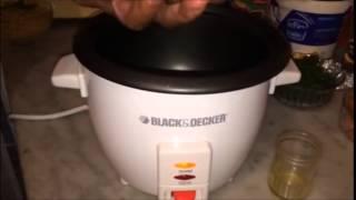 Macaroni Rice Cooker