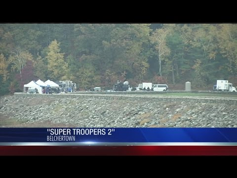"""""""Super Troopers 2"""" believed to be filming at Quabbin Reservoir"""