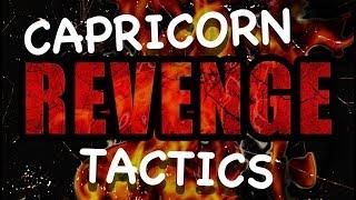 CAPRICORN REVENGE TACTICS [Ways/How A Capricorn Seeks Revenge] [Capricorn Man & Capricorn Woman]