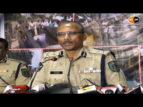 Visakhapatnam Police Commissioner Press Meet on Recent Allegations of Kidnappers