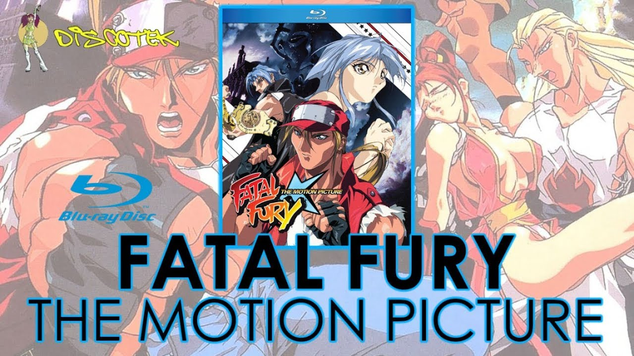 Fatal Fury The Motion Picture 1994 Blu Ray Unboxing 餓狼伝説