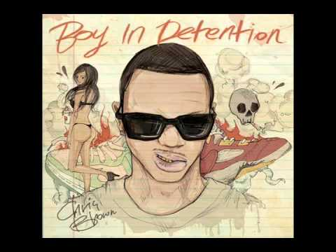 Chris Brown - 100 Bottles (ft. Se7en) [Boy In Detention] / LYRICS