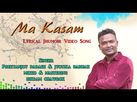 Ma Kasam - Latest jhumoir lyrical video song || Preeyanjoy Parash