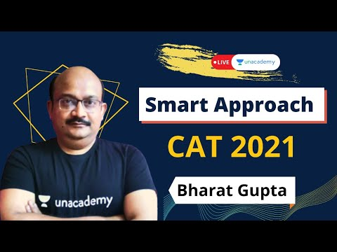 Smart way to approach Time and Work | CAT 2021 | With Legendary Bharat Gupta | Live on Unacademy
