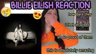 Baixar Billie Eilish- when we all fall asleep where do we go DEBUT ALBUM REACTION
