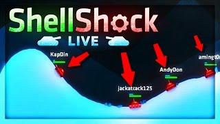 GEAR WAGER MATCH vs FANS! | Tank Wars (Shellshock Live)