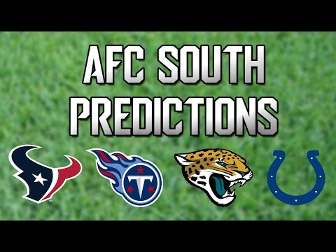 NFL Divisional Predictions - AFC South