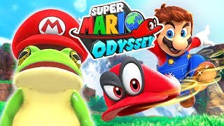 Super Mario Odyssey (Gameplay) Episode 1: MARIO IS A FROG?