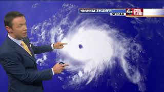 Florence becomes category 3 storm | Tracking the Tropics