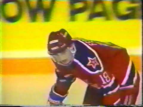 1989 Vancouver Canucks (Canada) - CSKA (Moscow, USSR) 0-6 Friendly hockey match (Super Series)
