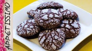 Мраморное шоколадное печенье Трещинки / Marble Chocolate Cracked Cookies