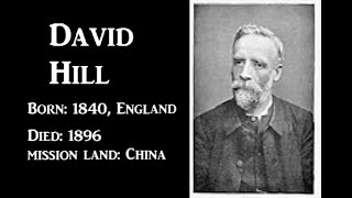 #95 Daivid Hill Missionary to China Short Biography   Tamil