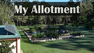 Mark's Allotment Garden Vegetables Raised Beds & Self Sufficient Backyard Intro
