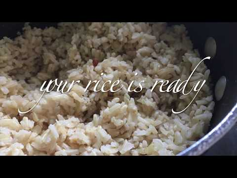 Plant-based Diet | How To Slow Cook Long Grain Brown Rice