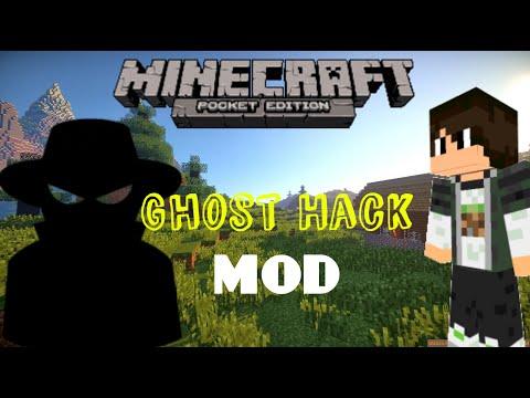 GHOST HACK MOD |0.11.1 MINECRAFT PE