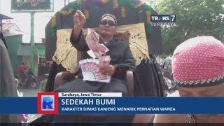 Dimas Kanjeng Ikuti Karnaval Sedekah Bumi Warga Surabaya