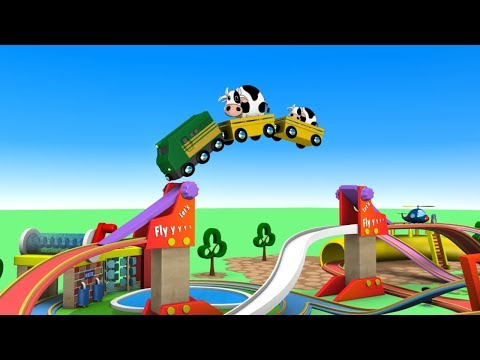 Let's Play - Toy Factory Trains - Chu Chu Train Cartoon - Trains for Kids - Choo Choo Train - Toy