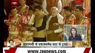 Watch: PM Narendra Modi, Shinzo Abe attend Ganga Aarti at Varanasi