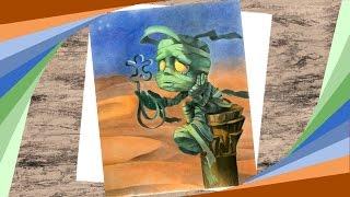 Amumu (League of Legends) - Speed drawing | Obibi