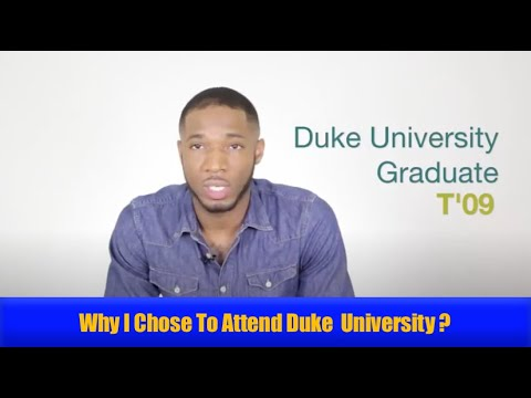 Why I Chose To Attend Duke University - Ep. 1 of 4