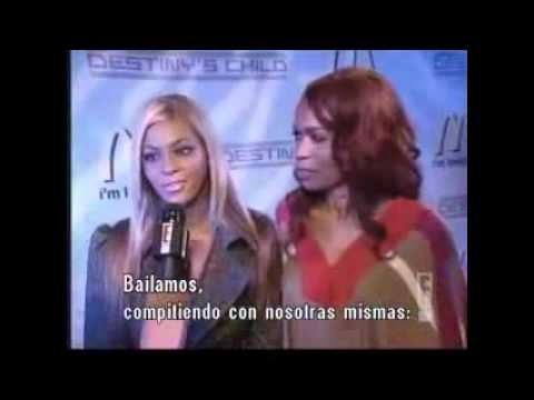 Destiny's Child - E News Interview @ McDonald's Event