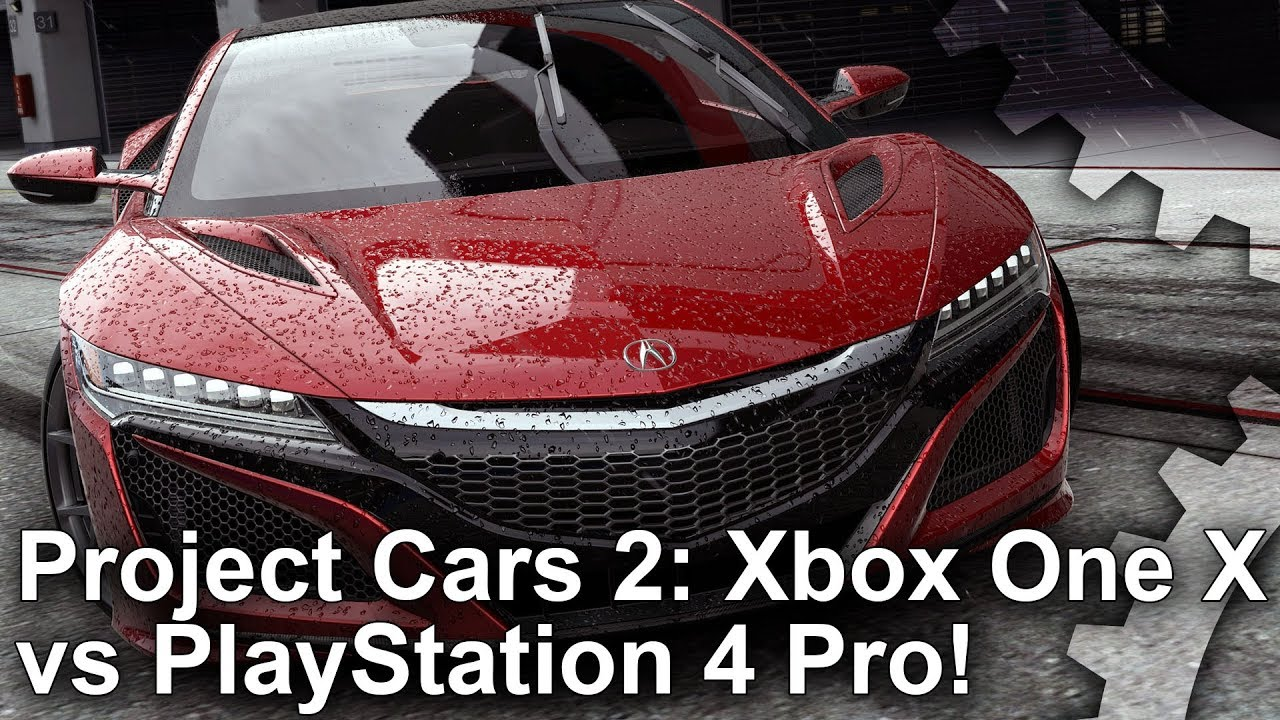 4k project cars 2 xbox one x vs ps4 pro graphics. Black Bedroom Furniture Sets. Home Design Ideas