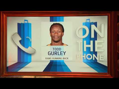 L.A. Rams RB Todd Gurley on Jared Goff