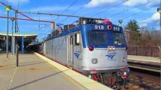 Rail-fanning Rt.128 Station Part 1: Amtrak & MBTA Meets