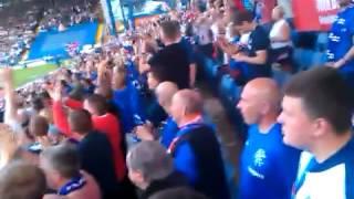 Rangers Fans v Sheffield Wed: 10 German Bombers