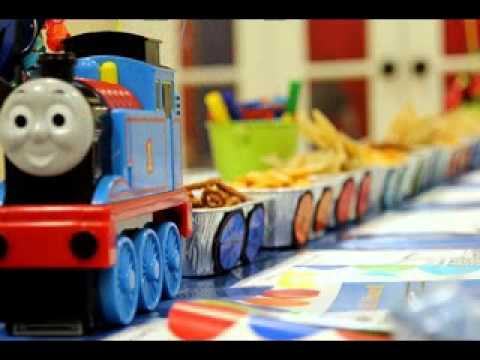 DIY Train Birthday Party Decorations Ideas