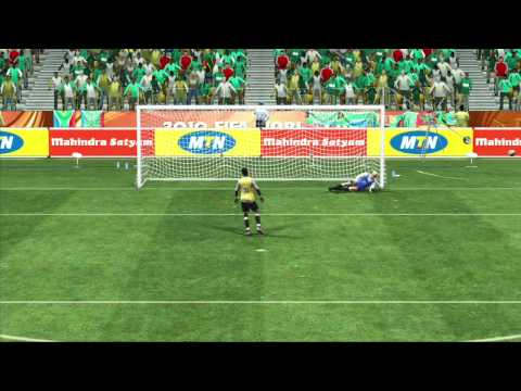 2010 FIFA World Cup South Africa Tutorial  Penalty Shots