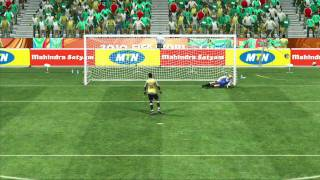 2010 FIFA World Cup South Africa Tutorial - Penalty Shots