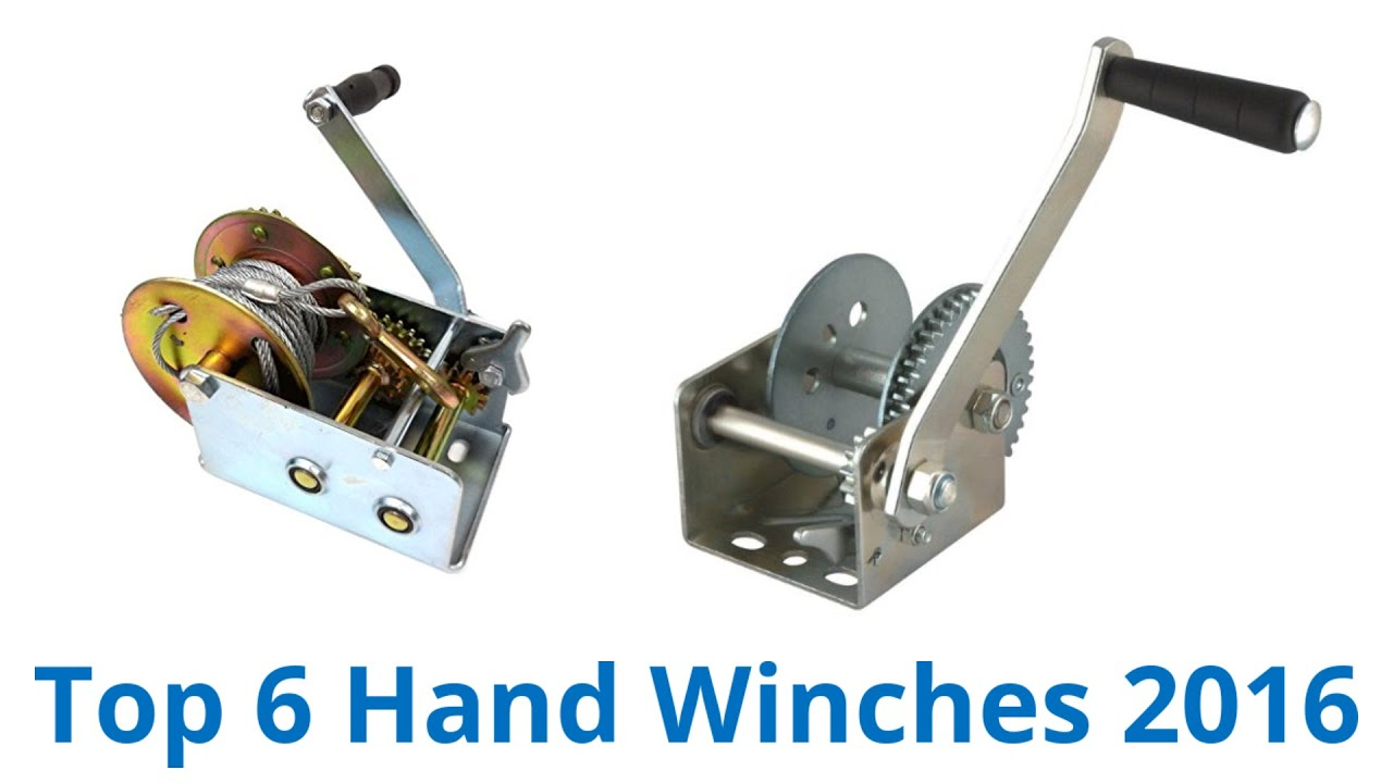 6 Best Hand Winches 2016